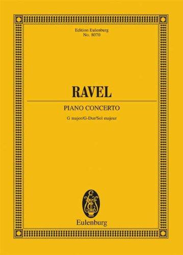 Piano Concerto in G Major (Edition Eulenburg)