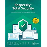 Kaspersky Total Security 2020 - 3 Dispositivos, 1 Ano - Entrega Digital