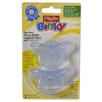 Amazon.com : Playtex Pacifier, Safe N Sure, Most Like ...