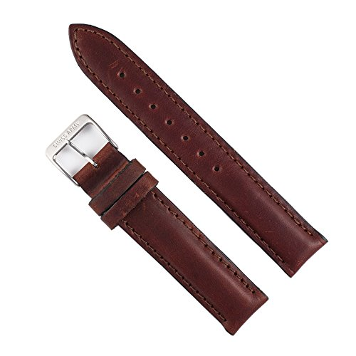 Genuine Swiss Army Brown Leather Cavalry Series Watch Strap