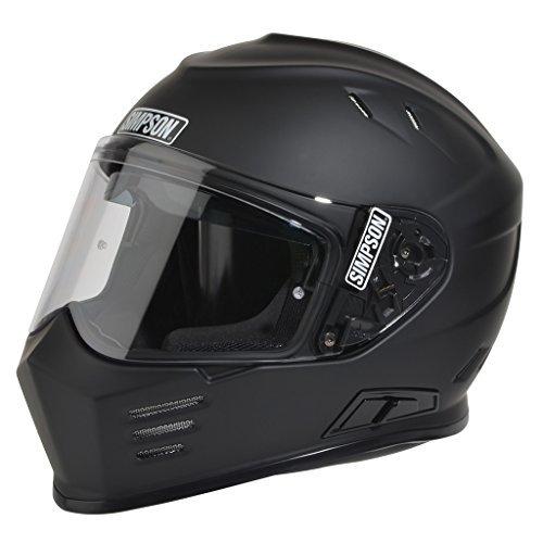 Simpson GBDS3 Helmet Flat Black DOTGhost Bandit Small