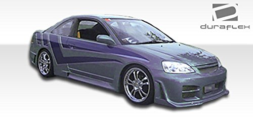 (Duraflex ED-OEP-330 R34 Side Skirts Rocker Panels - 2 Piece Body Kit - Compatible For Honda Civic 2001-2005)