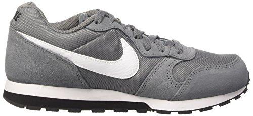 Nike Md Runner 2 (Gs), Zapatillas de Running para Niños Gris / Blanco / Negro (Cool Grey / White-Black)