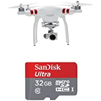 DJI Phantom 3 Standard Quadcopter w/32GB SanDisk Memory Card