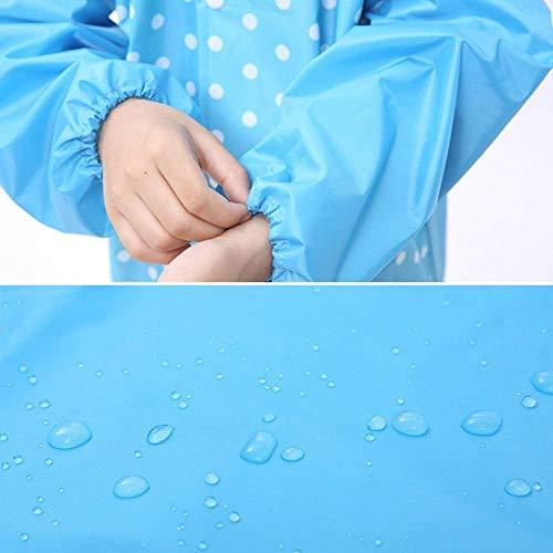 Imperméable blue vent Manteau Tourisme Pluie De Coupe Pengfei Couleurs Dame 2 Casual Poncho L'eau 4 Huttraufen 1 À Respirant RfdBpwq
