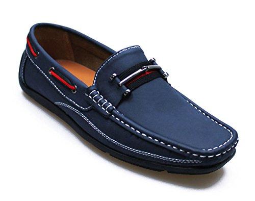 Mocassini Scarpe Shoes casual uomo quality Blu Man's top ArwdAxqgX