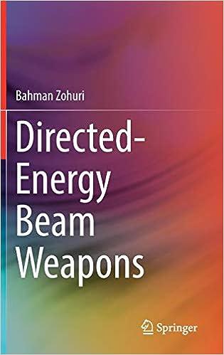 Directed-Energy Beam Weapons: Bahman Zohuri: 9783030207939: Amazon