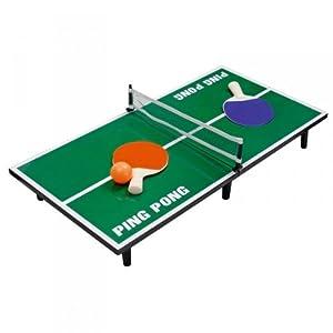 Mini-Tischtennisplatte, Tischtennis Set