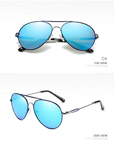 De C1 400 para Mujer Hombre Sol Polarizadas Gafas para Protección UV Aviator C4 dUxqRPdwa