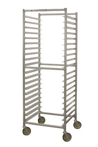 "PVIFS WE302424KD-DSR Knock-Down Donut Screen Rack, 20 Screen Capacity, 24"" Length x 24"" Width Screen"