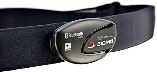 Sigma Sport R1 Duo Ant+/ Bluetooth Smart Heart Rate Transmitter with Comfortex Strap