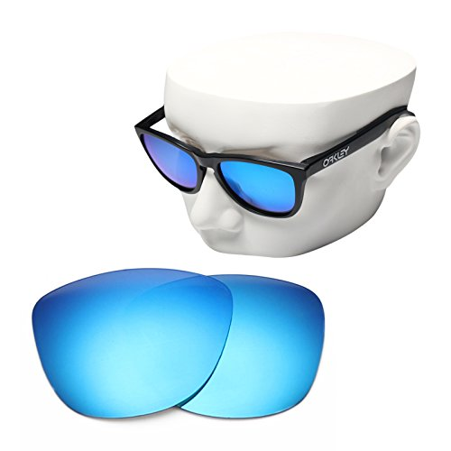 OOWLIT Replacement Sunglass Lenses for Oakley Frogskins Blue - Frogskins Lenses Oakley