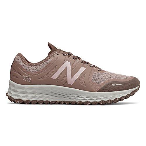 New Balance Women's Kaymin Trail v1 Fresh Foam Trail Running Shoe Latte/Macchiatto/Himalayan Pink
