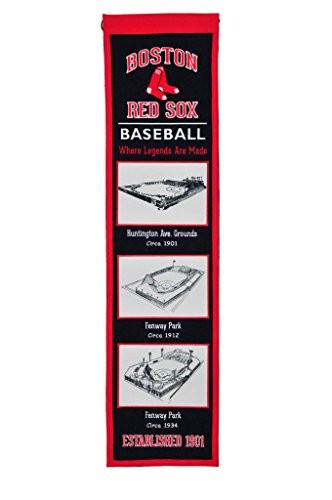 (Winning Streak MLB Boston Red Sox Stadium Evolution Banner, One Size, Multicolor)