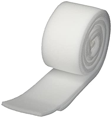 """Rolyan Foam Bandage, 2 Rolls, 54"""" Long x 3-1/8"""" Wide x 1/4"""" Thick, Open-Celled Polyether Foam Wrap for Firm Support & Muscle Pump Efficiency, Comfortable Padding for Wound Care, Edema, Lymphedema"""