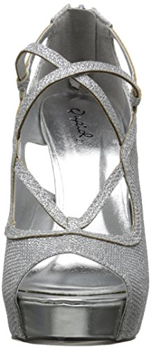 Silver Platform Qupid 427 Women Sandal Gaze nZZqSxF7v