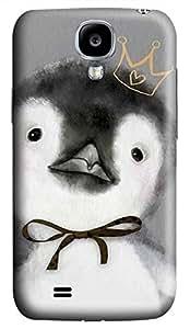 Samsung Galaxy S4 I9500 Hard Case - Penguin Galaxy S4 Cases by Maris's Diary