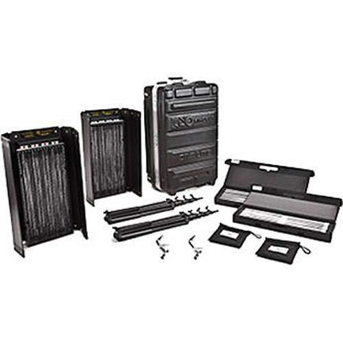 Kino Flo Diva Lite 400 2 Light Kit with Flight Case KIT-D42-120 - Kino Diva Light