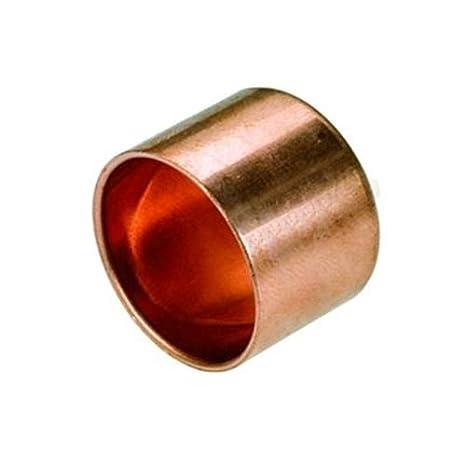 Hembra tubería casquillo final adecuado 15mm instalación de agua de soldadura conector de cobre: Amazon.es: Bricolaje y herramientas