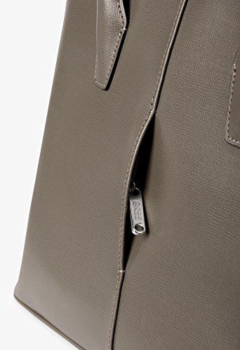 BREE - Bolso de tela para mujer Negro negro 40 cm x 30 cm x 13 cm (B x H x T) antracita