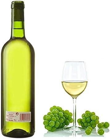 "Vino Blanco de mesa cosechero""Los Corzos"" Caja de Botellas 6 x 750 ml - Total: 4500 ml"