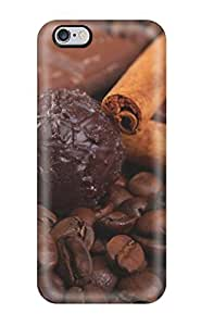 Awesome LpgMnka3943HQMzG DMGden Defender Tpu Hard Case Cover For Iphone 6 Plus- Chocolate