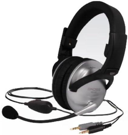 Headset Sb49 Grau Schwarz Elektronik