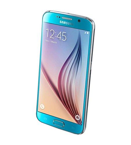 Samsung Galaxy S6 SM-G920i 32GB Unlocked GSM Smartphone - International Version, No Warranty (Blue Topaz) -  G920F-32GB-BLUE