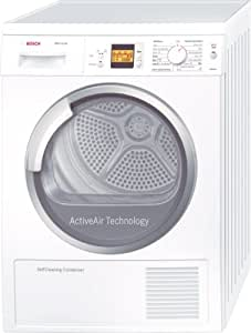 Bosch WTW86560EE Independiente 7kg Color blanco - Secadora (Independiente, Color blanco, 7 kg, 124 min, 65 dB, 1,9 kWh)