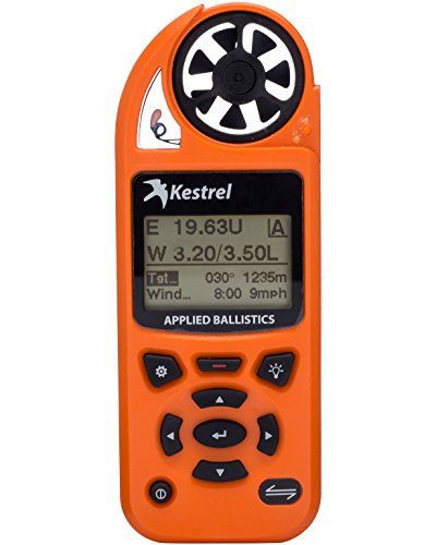 Kestrel 5700 Elite Weather Meter with Applied Ballistics, Orange by Kestrel
