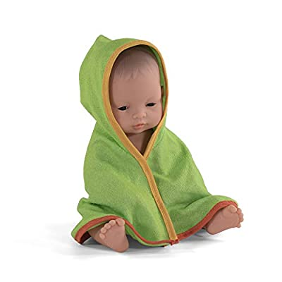Miniland Educational - 12.63'' Anatomically Correct Newborn Baby Doll, Asian Boy: Toys & Games