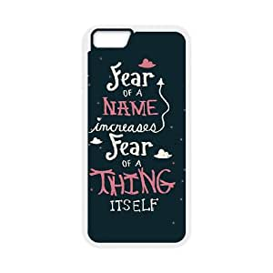 iPhone 6 4.7 Inch Cell Phone Case White Harry Potter quotes D2290094