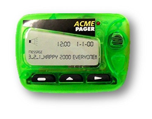 Refrigerator Sound Magnet Green Pager Beeper Acme