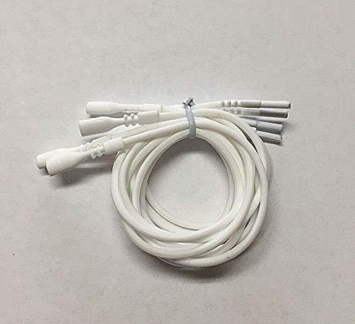 White Necklace Silicone Cord 18