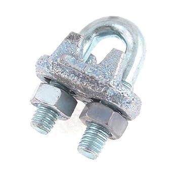 eDealMax tono de Plata DE 6 mm maleable 15/64 Dia cuerda de alambre de
