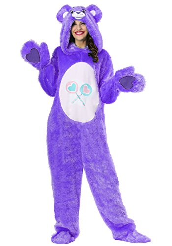 Care Bears Costumes For Adults (Care Bears Adult Classic Share Bear Costume Medium)