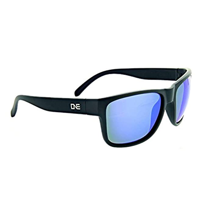 6b911199dd0 Optic Nerve Kingfish Polarized Sport Sunglasses - Matte Black Frame with  Polarized Brown with Blue Mirror
