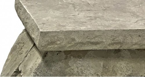 Concrete Countertop Edge Form - Chiseled Granite by Walttools