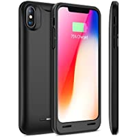 iPhone X Battery Case with Qi 4200mAh Slim Wireless Portable Charger