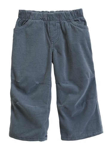 (City Threads Boys' Corduroy Pull-Up Pants for School or Play; Comfortable for Active Children Toddler Warm Cords for Sensitive Skin or SPD Clothing - Concrete -)