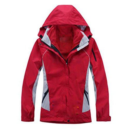 Donna Red In Due Alpinismo Tre Da Lai Spesso Uno Sci Wu Impermeabile Pezzi Outdoor Giacche A qtSCZ
