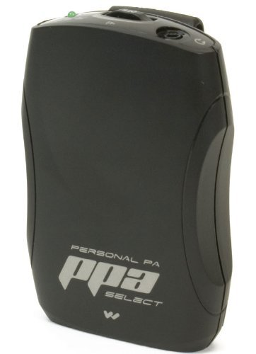 Williams Sound PPA R37N PPA Select FM Receiver with Belt Clip Fits with PPA T46, PPA T45, PPA T45NET and PPA T27 transmitters, Seek-button access to all 17 wideband frequencies in the 72-76 MHz bandwidth by Williams Sound