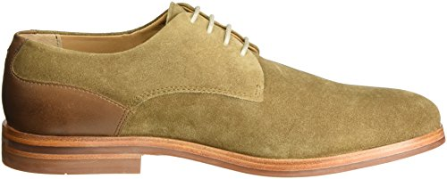 Scarpe Enrico Marrone Oxford Uomo Stringate Tobacco 46 Suede Hudson London x4AqII