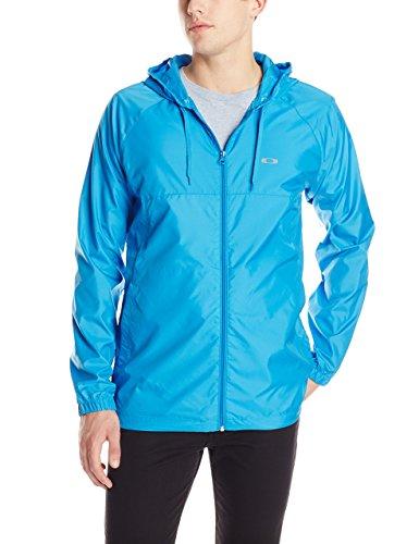Oakley Windbreaker - Oakley Men's Dally Windbreaker Jacket, Brilliant Blue, Small