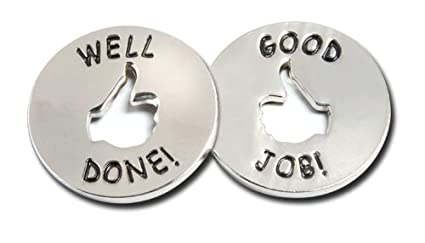 amazon com good job well done tokens 10 set academic awards