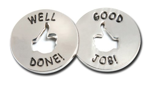 Good Job - Well Done Tokens (10/set) (Congrats On A Job Well Done)