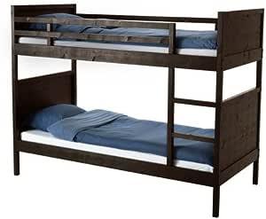 Ikea 22210.20292.620 - Litera de tamaño Doble, Color Negro y ...