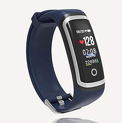 Qsoleil M4 Reloj Inteligente, Bluetooth Smartwatch para Sedentary ...