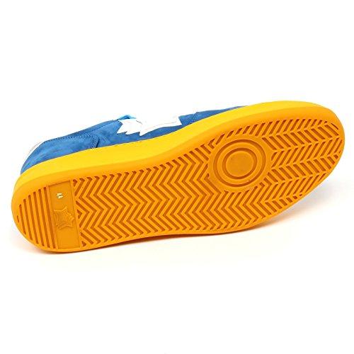 Atlantic Stars D0924 Sneaker Uomo Rigel PCO TE55 Scarpa Blu Chiaro Shoe Man Blu chiaro