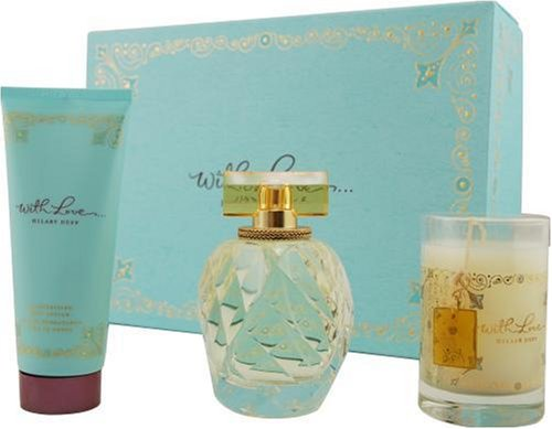 Hilary Duff With Love Gift Set - With Love Hilary Duff By Hilary Duff For Women, Set-eau De Parfum Spray, 3.3-Ounce Bottle & Body Lotion 3.3-Ounce Bottle & Candle